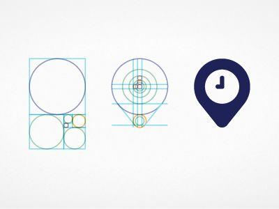 Golden ratio #logo #grid #minimalism