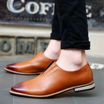 Brown Slip-on Leather Loafers for Men - Enjoy Summer @runit365 #loafers #classy