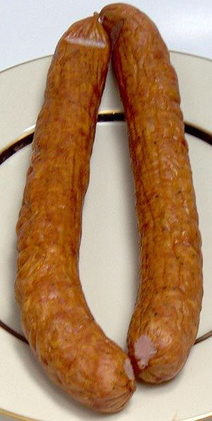 Polish Garlic Sausage - © Sweet Poland, used with permission.