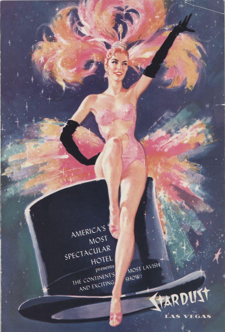 "Program for the Lido de Paris at the Stardust Hotel in Las Vegas, circa 1958.  Part of UNLV Libraries ""Showgirls"" digital collection.  #UNLV"