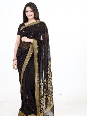 Kollywood actress Actress komal sharma navel show in black saree stills-2 is full of beauty and charm