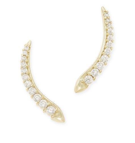 Whit Ear Climbers - Kendra Scott Jewelry.