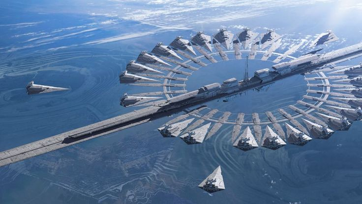 Star Destroyer docking facility, #StarWars