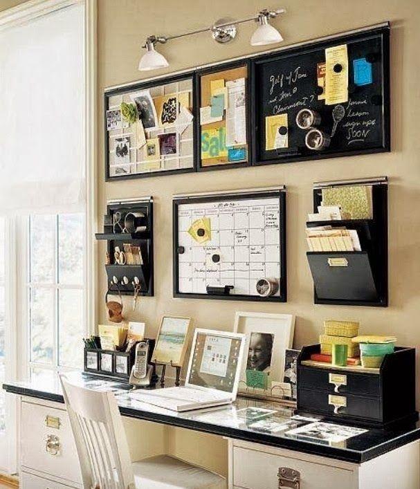 13 idées pour aménager votre espace de travail. | caractériELLE
