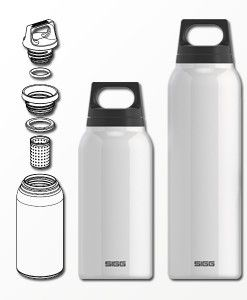 SIGG Thermo with tea filter - available in 0.3L and 0.5 Liter