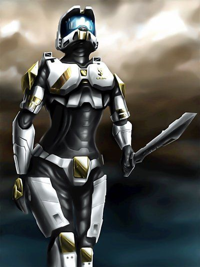 Halo Female Spartan Drawing | Top Pictures Gallery