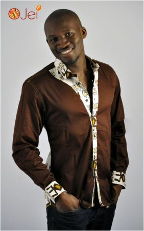 Chemise akan spirit by Ojei #Afrikrea #Fashion #AfricaPrint # Africa #Wax