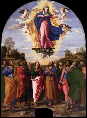 NOVENA TO OUR LADY : OFFICIAL FOR ASSUMPTION FEAST - PLENARY INDULGENCE - DAY 7  JESUSCARITASEST.ORG