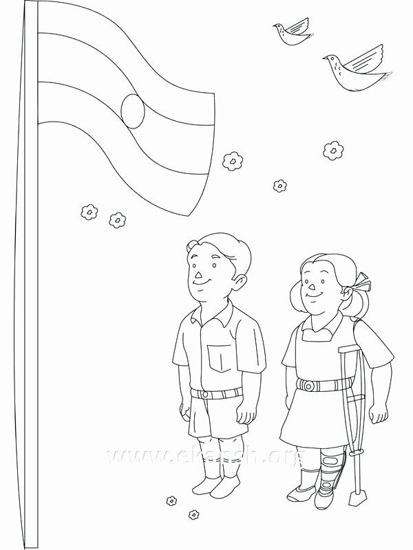 India Flag Coloring Page Elegant India Flag Coloring Page At