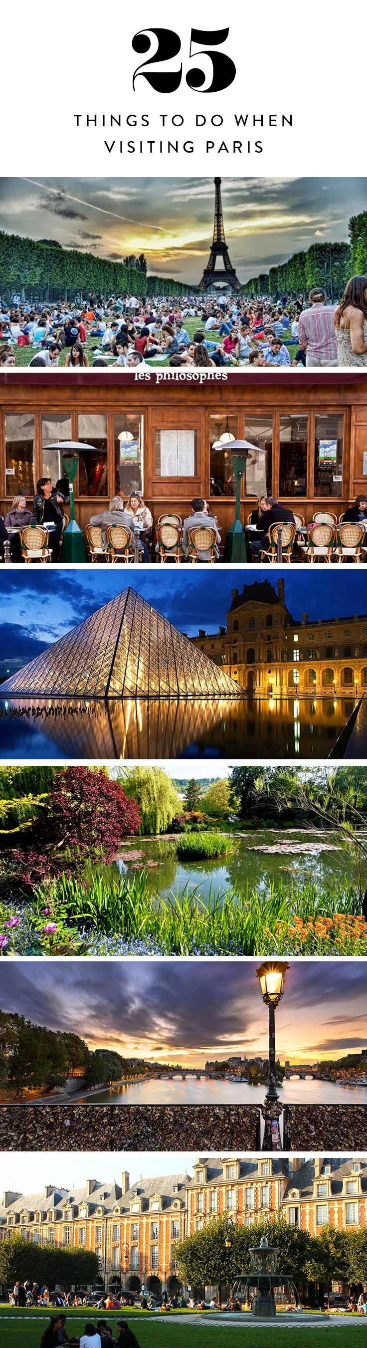 From the food to the culture to the fashion, there so many activities to fit in over the course of a few days in Paris. Here's how to get the most out of your time in the City of Light.