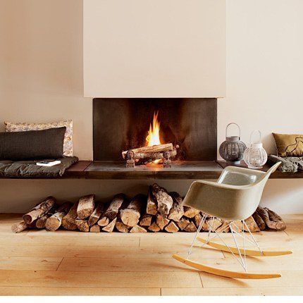65 best Cheminée images on Pinterest Modern fireplaces, Fire