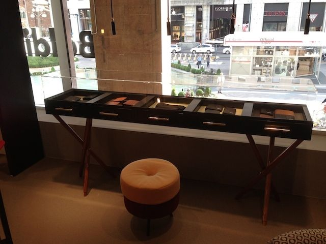 Arredo per un Fashion Store di Milano. (www.pentasystems.it)