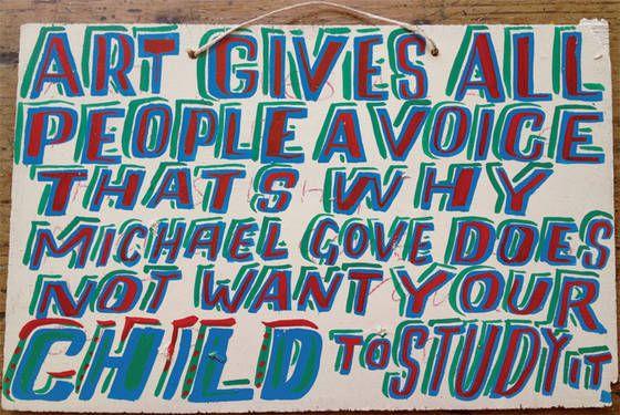 Bob and Roberta Smith, 'All schools should be art schools', 2012.