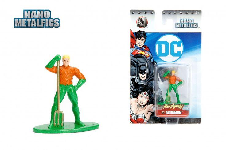 Jada Toys DC Comics Nano Metalfigs Die-Cast Aquaman (New 52) Figure