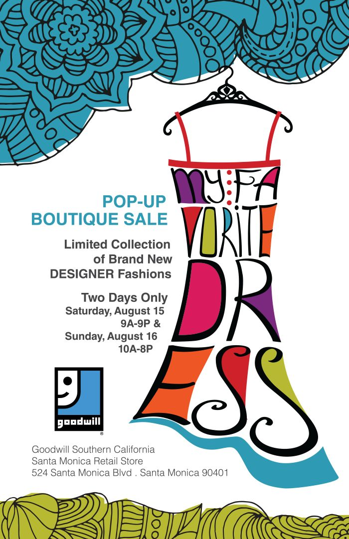 TWO DAY ONLY Pop-Up Boutique Sale Saturday, August 15th and Sunday, August 16th at our Santa Monica location (524 Santa Monica Blvd. Santa Monica 90401).