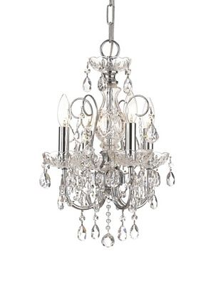 43% OFF Gold Coast Lighting Elegant Chandelier, Polished Chrome