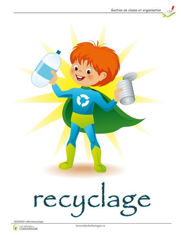 Affiche Recyclage En 2020 Recyclage Affiche A Imprimer