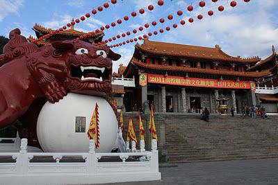 Day 2 - Wen Wu Temple Wenwu Temple is located at the shoulder of mountain where is on the north of Sun Moon Lake. It was built in 1938. #AviaPromo #Travelling #Wisata