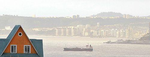 Viña del Mar from Valparaíso
