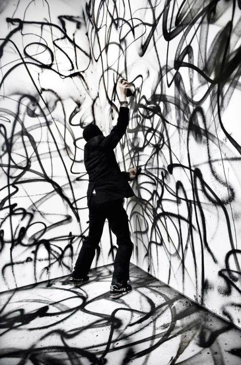 Swedish graffiti artist NUG