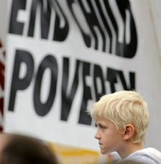 Report: US Has One Of The Highest Child Poverty Rates In The Developed World, comparable only with Romania.