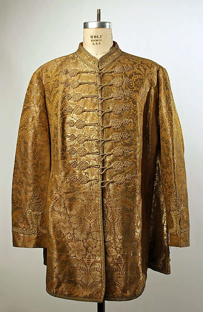 Coat Date: ca. 1848 Culture: Hungarian Medium: silk, metallic thread