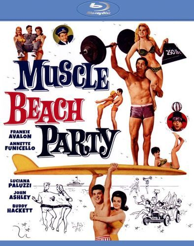 Muscle Beach Party [Blu-ray] [1964]