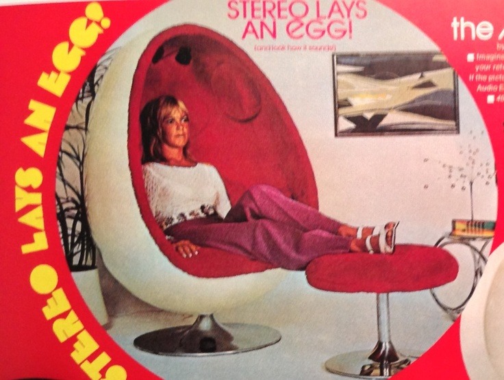 Seventies Advertising For The Egg Chair