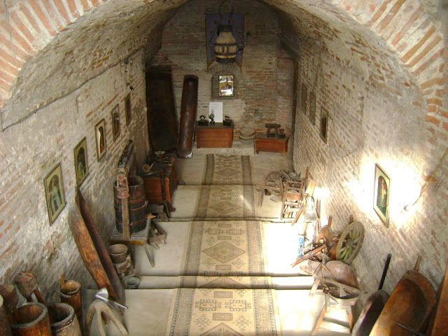 Comana Monastery - the basement