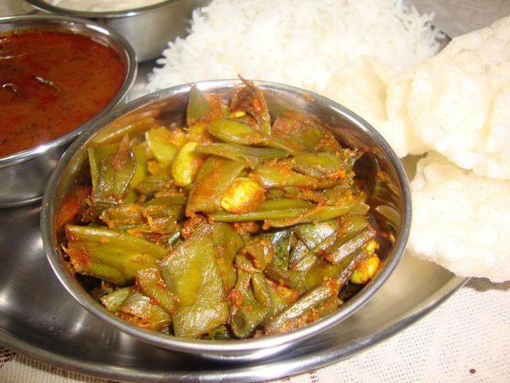 avarakkai poriyal, chikkudukya vepudu, broad beans stir fry, south indian vegetable stir fry recipe, easy and tasty avarakkai stir fry