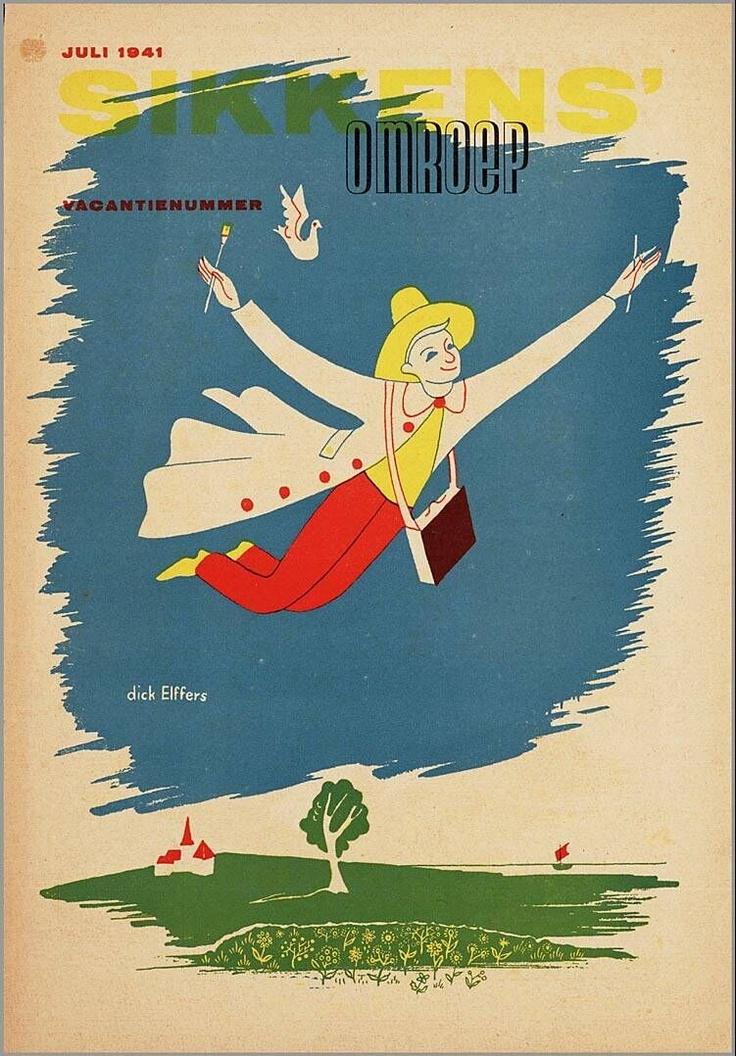 1941 'Sikkens omroep' book cover