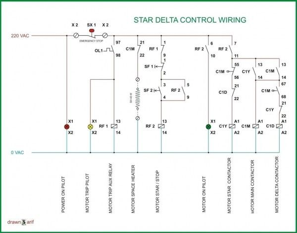 Wiring Diagram Of Cold Storage Electrical Circuit Diagram Electrical Diagram Basic Electrical Wiring