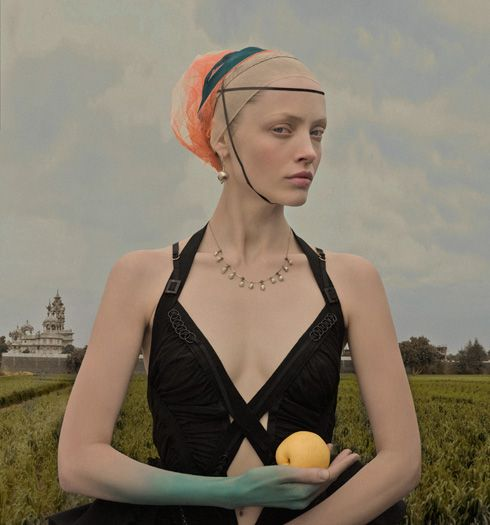 The Terrier and Lobster: Eugenio Recuenco Quattrocento Portraits