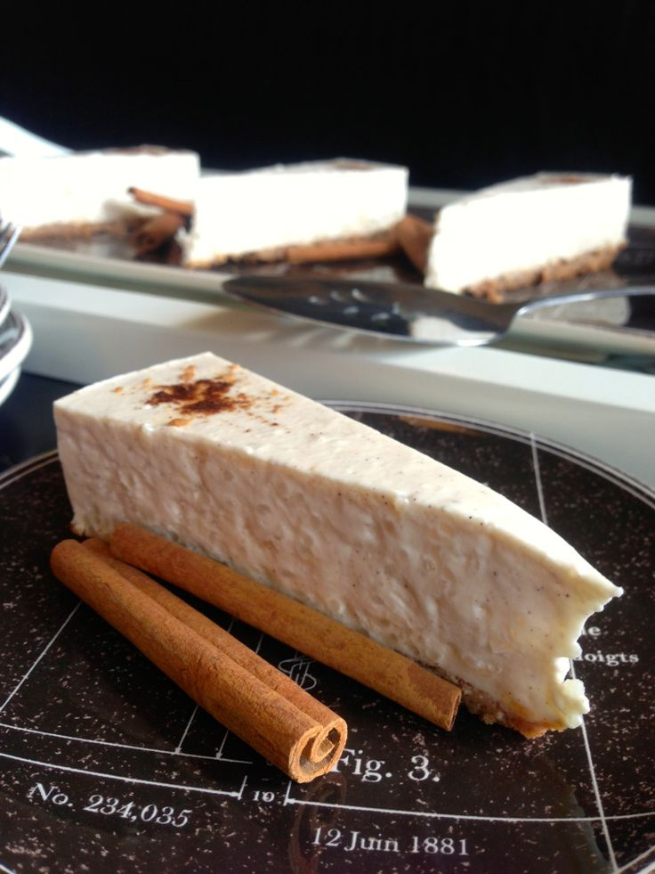 horchata cheesecake, omg I love dessert I have to make this!