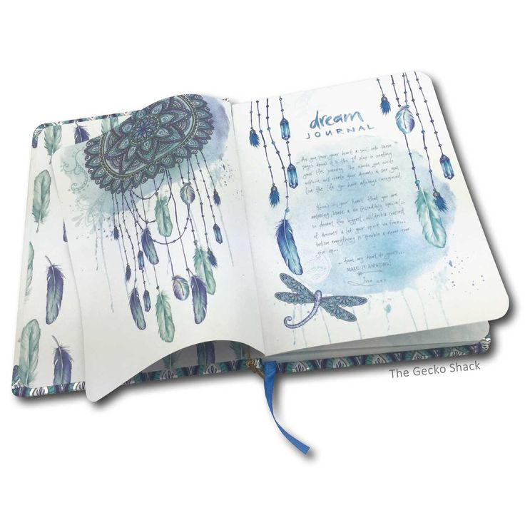 The Gecko Shack - Dream Big let no one dull your Sparkle - Journal with Dream Affirmation