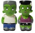 Frankenstein Salt Pepper Shakers Halloween Psychobilly Rockabilly home decor