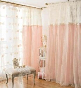 hanging curtain room dividers- I just want curtains that are like those!