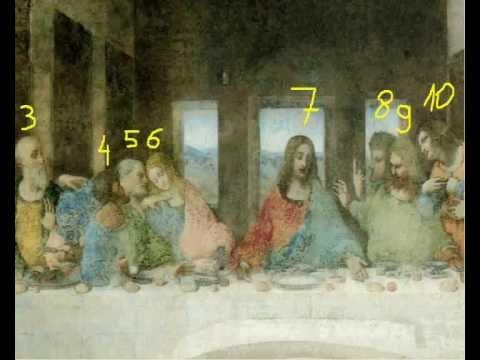 Another Secret Revealed !!! (Last Supper, Leonardo Da Vinci) - YouTube