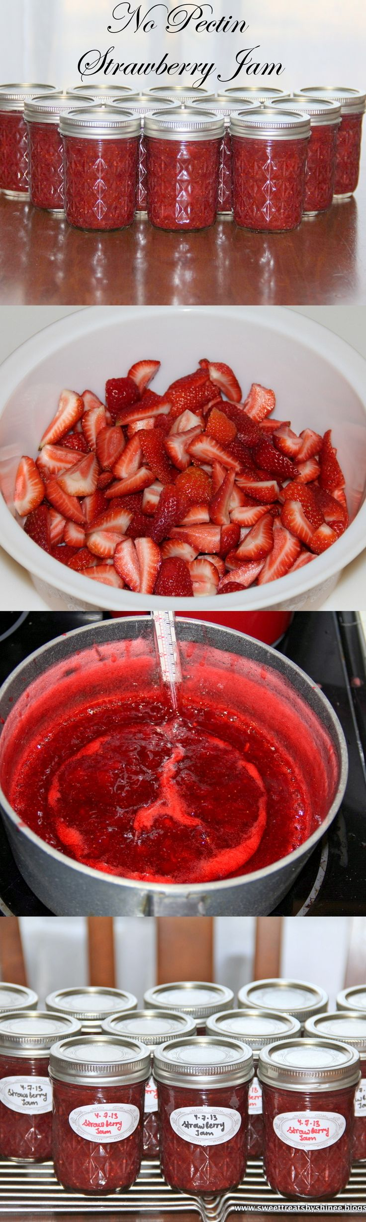 Easy Strawberry Jam (No Pectin)