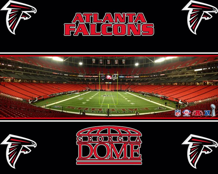 """Atlanta Falcons  People in the state of Georgia are """"blessed"""" to have this great football team!"""