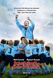 Kicking And Screaming Full Length Movie. Family man Phil Weston, a lifelong victim of his father's competitive nature, takes on the coaching duties of a kids' soccer team, and soon finds that he's also taking on his father's dysfunctional way of relating...