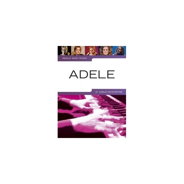 Really Easy Adele for Piano. Easy Piano arrangements of 21 Adele hits. Includes song notes and useful hints and tips to help you perfect your performance. $22.00