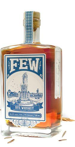 FEW Spirits, Chicago  Small batch gin, whiskey, rye bourbon,   Fantastic!