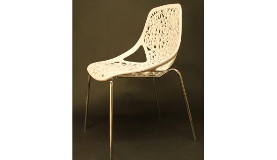 Eddy Chair 55.5*54.5*81.5cm - White