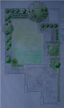 Garden layout plan