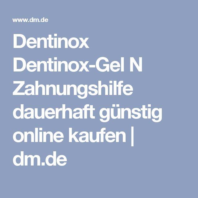 Dentinox DentinoxGel N Zahnungshilfe, 10 g dauerhaft
