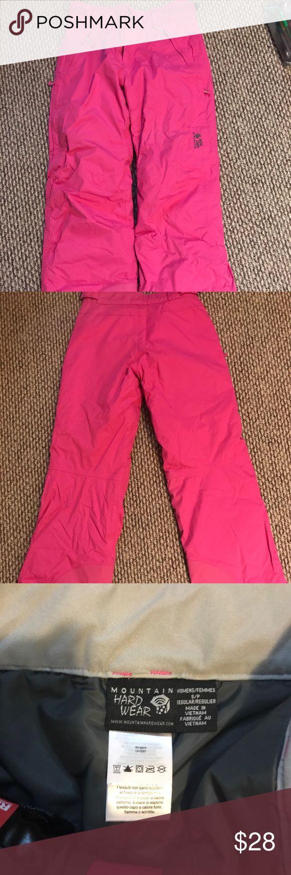 NEW Mountain Hard Ware Snowpants Adjustable waistband and multiple pockets Mountain Hard Wear Jackets & Coats