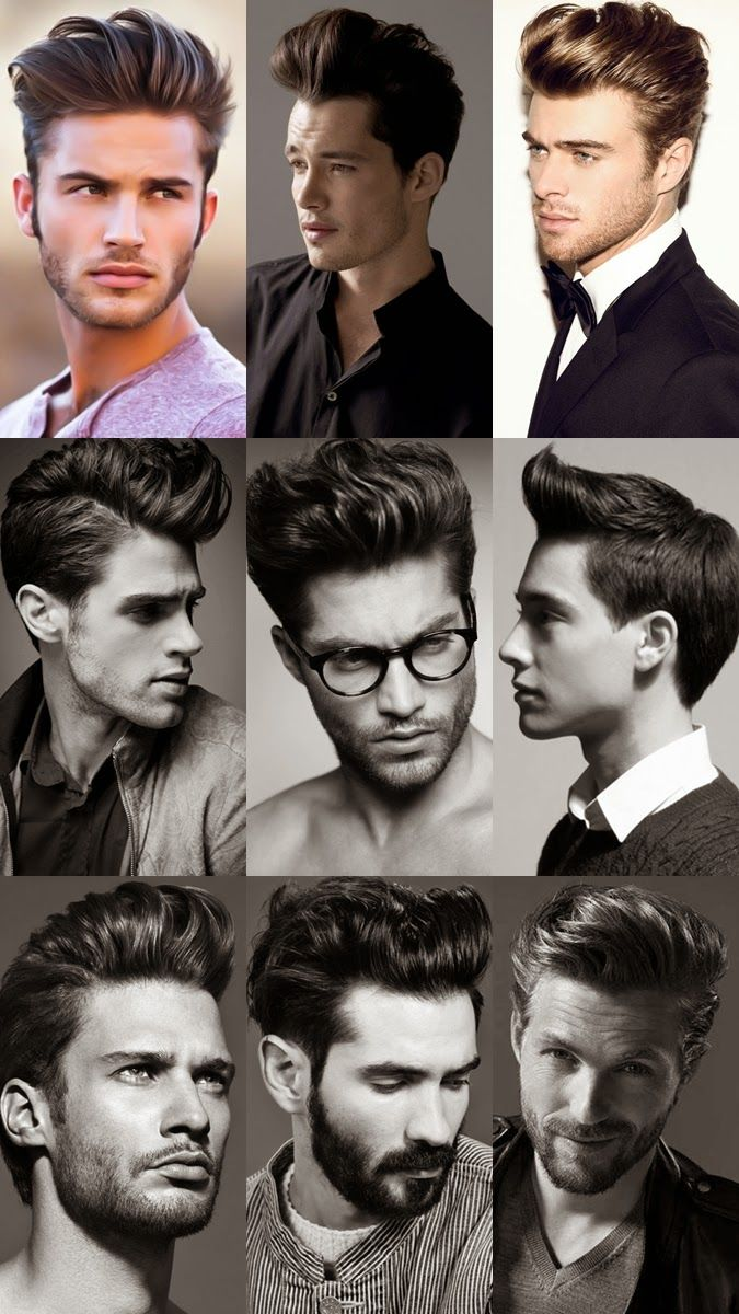 The Pompadour Haircut Is A Classic Style That Suits Men Of All Ages, Face  Shapes And Hair Types. Barbers Tell Us How To Style A Modern Pompadour.