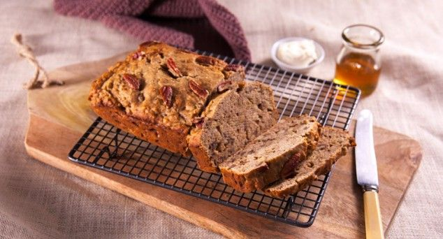 Impress your guests with a slice of this unbeatable banana bread.   #dessert #baking #recipe