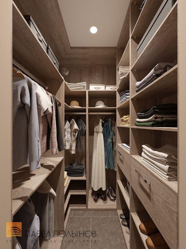 Фото: Дизайн гардеробной - Интерьер квартиры в стиле минимализм, ЖК «Классика», 130 кв.м.